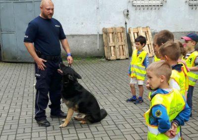 Wyjście do Komendy Miejskiej Policji w Gdyni – 11.06.2018