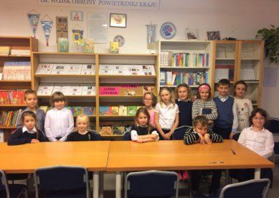 Finał szkolnego konkursu czytelniczego ze znajomości lektury Astrid Lindgren Dzieci z Bullerbyn – październik 2017