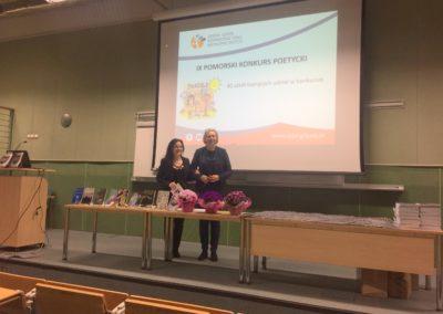 """Finał IX Pomorskiego Konkursu Poetyckiego """"Niektórzy lubią poezję…"""" – kwiecień 2018"""