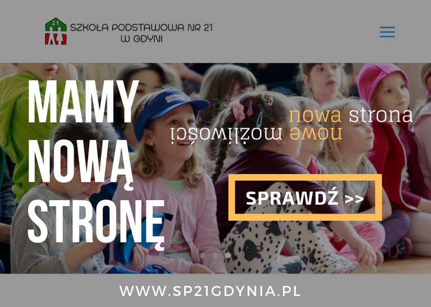 Nowa Strona Internetowa Szkoły