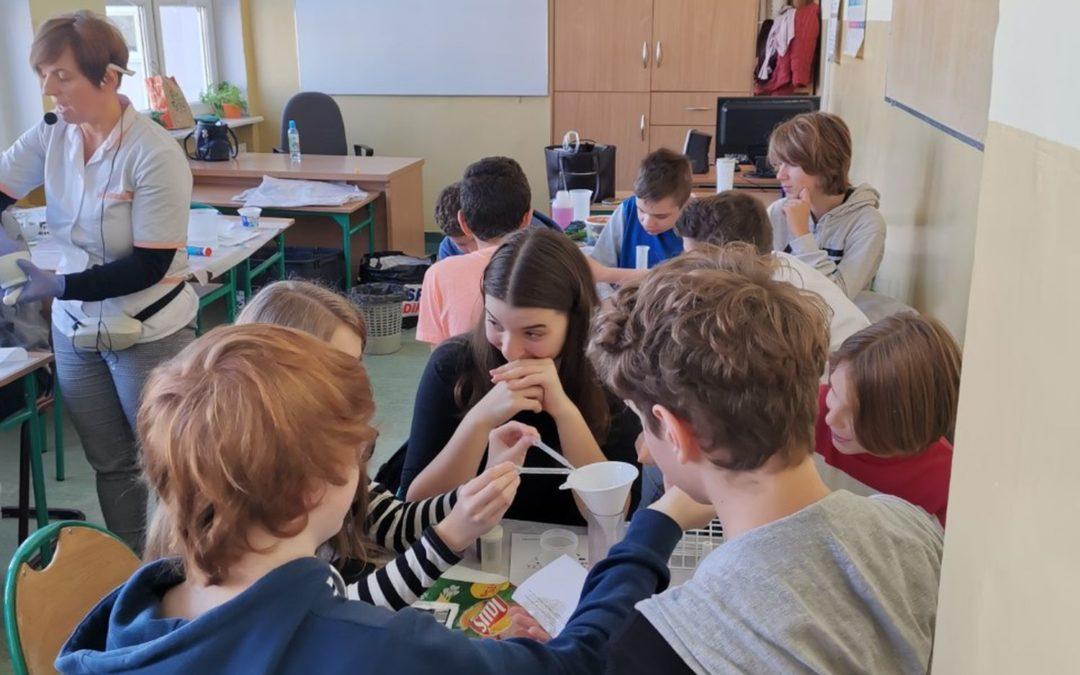 Warsztaty dietetyczne dla klas 8