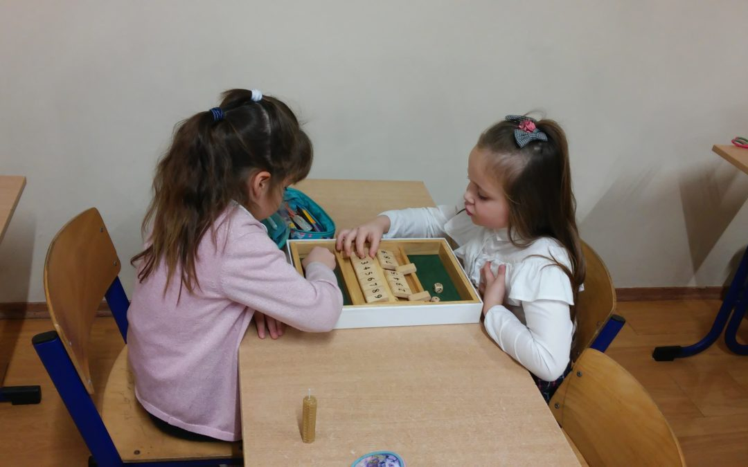 Zajęcia w klasie I B