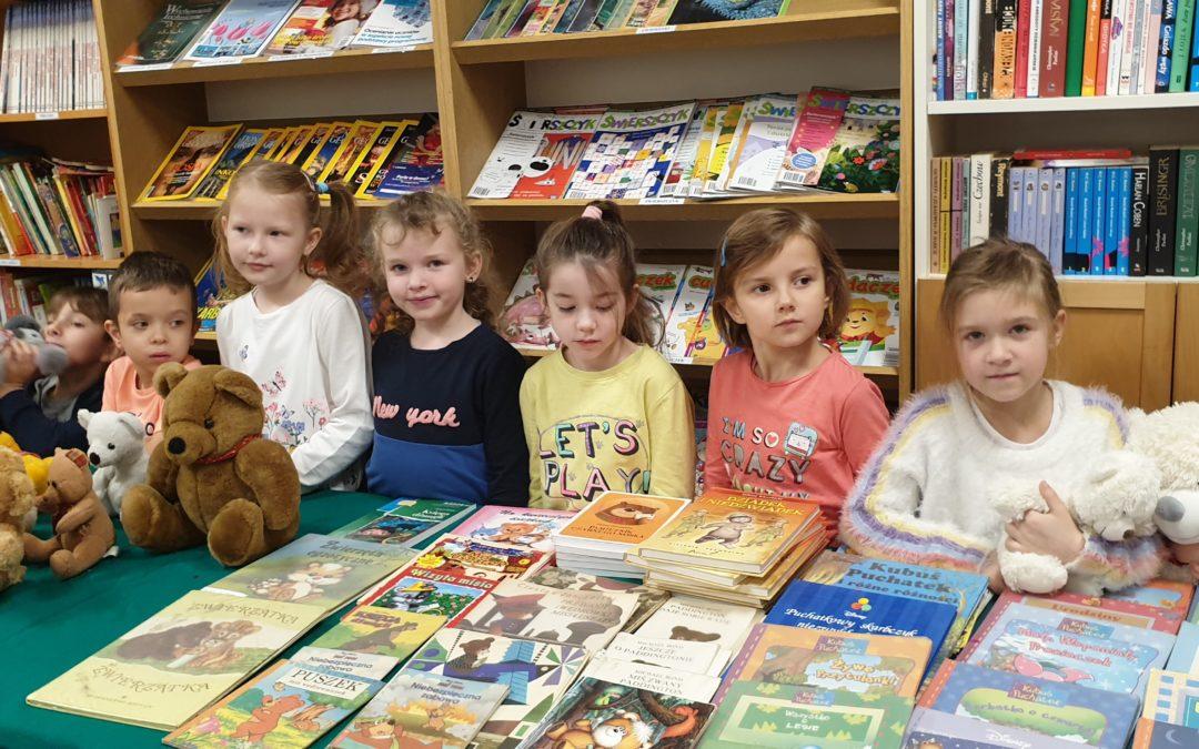 Dzień Pluszowego Misia – lekcja biblioteczna