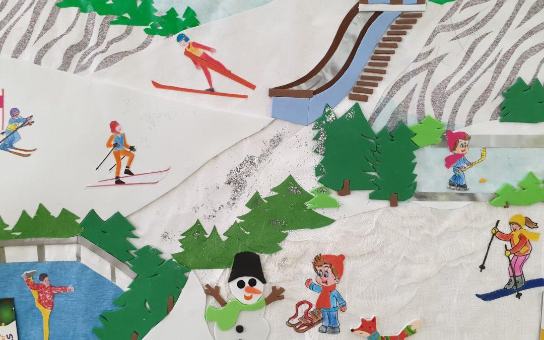 """Konkurs plastyczny """"Zabawy i sporty zimowe"""""""