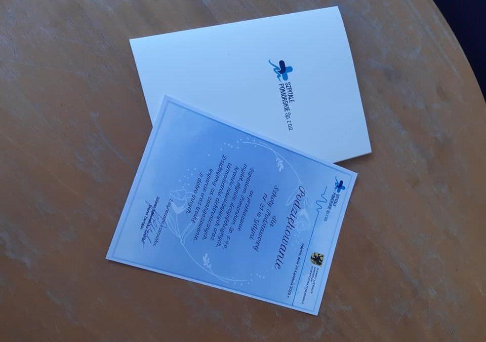Samorząd Uczniowski z pomocą dla szpitala