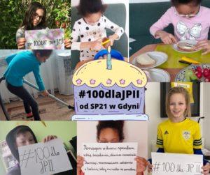 Akcja #100dlaJPII z okazji 100 urodzin św. Jana Pawła II