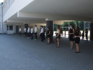 Pożegnanie Uczniów klas 8 – Absolwentów 2020