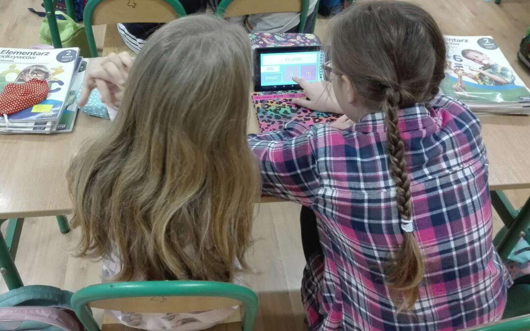 Technologie zadomowiły się w klasie 2a