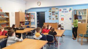Lekcja biblioteczna o Gdyni