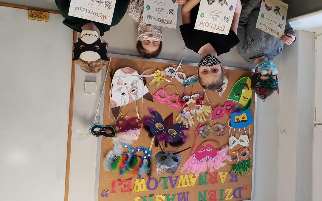 Dzień maski karnawałowej- konkurs rozstrzygnięty :)