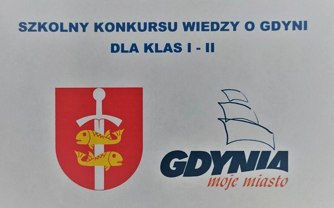 Szkolny Konkurs o Gdyni dla klas 1-2