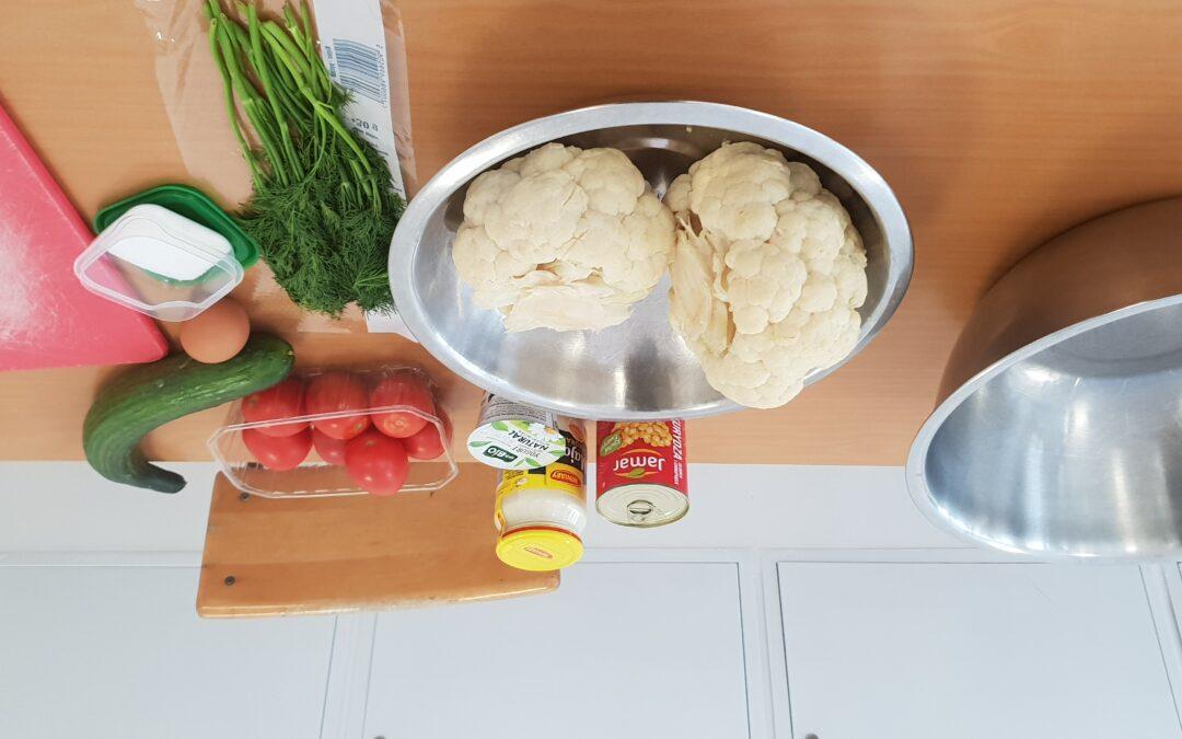 Warsztaty kulinarne- sałatki warzywne