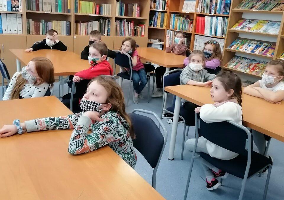 Lekcja biblioteczna o Gdyni klasa 1B