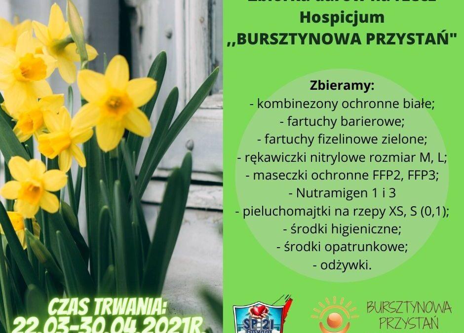 Zachęcamy  do pomocy na rzecz Hospicjum.