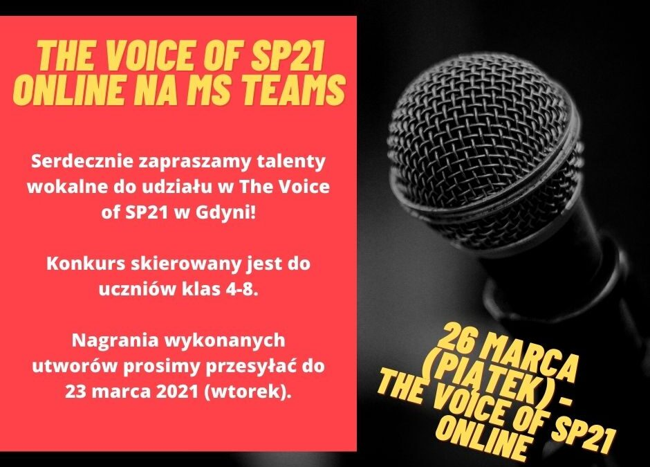 THE VOICE OF SP21 ONLINE!