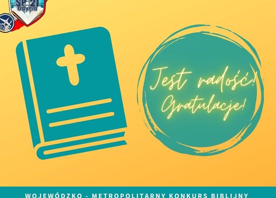 Finaliści Etapu Rejonowego Konkursu Biblijnego!