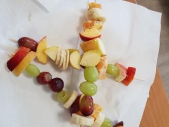 Warsztaty kulinarne- szaszłyki owocowe:)
