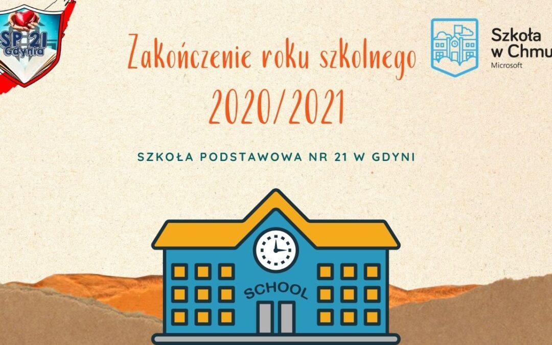 TAK BYŁO! – Zakończenie roku szkolnego 2020/2021!