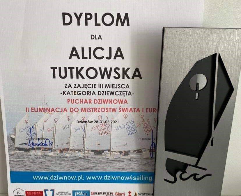 Kolejny sukces Alicji Tutkowskiej z klasy 8B