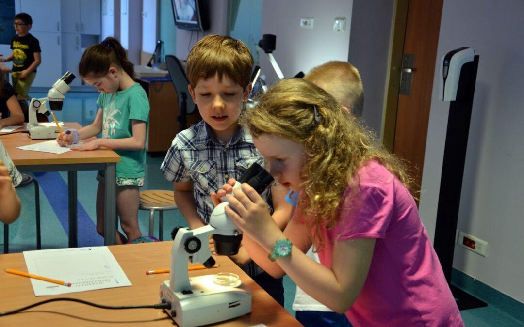 Zajęcia laboratoryjne w Akwarium Gdyńskim 1A