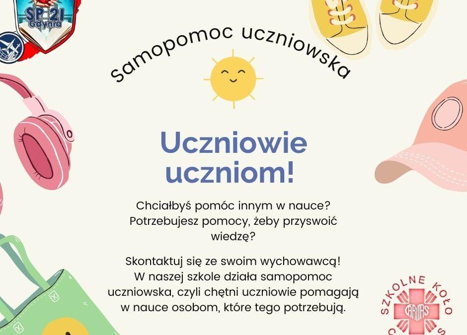 Samopomoc uczniowska – zaczynamy! :)