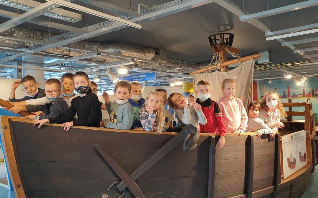 Lekcja muzealna w Ośrodku Kultury Morskiej 2A